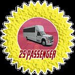 25 passenger party bus in san diego rental