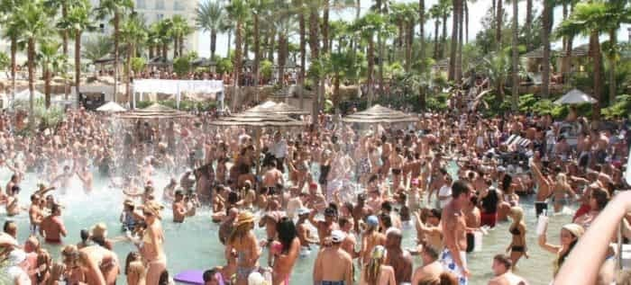 san diego to vegas pool party transportation