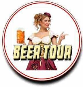 san diego hotlimos,beer tour,tasting,logo,circle