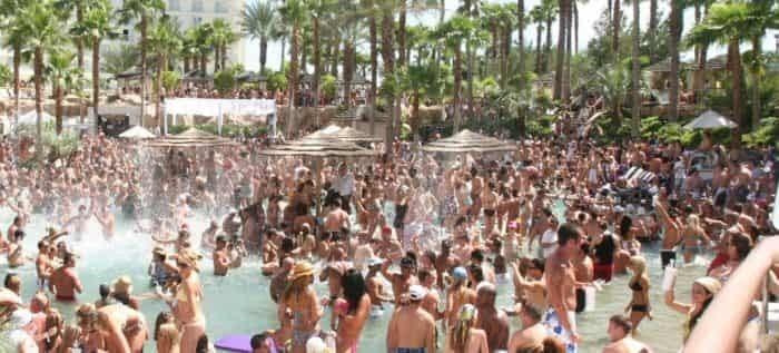 san diego to vegas pool party transportation