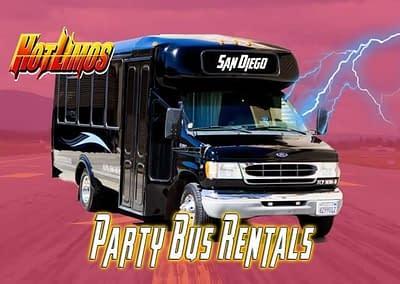 Mini Party Bus – 16 Passengers – 20 Passengers