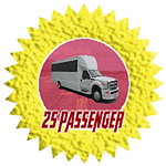 25 passenger party bus in san diego rental