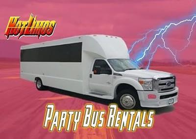 25 Passenger Party Bus (New)